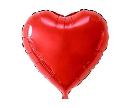 """Шар с гелием """"Сердце"""" - (цвет на выбор)"""