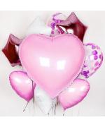 """Набор из шариков - """"Нежный набор love"""""""