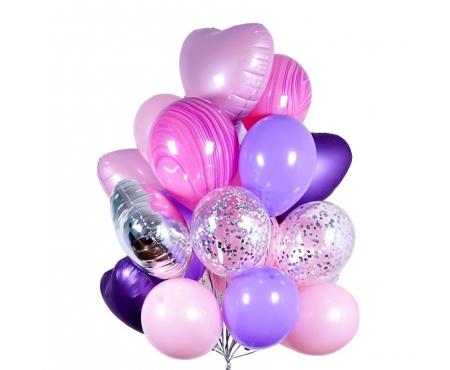 """Набор из шариков - """"Фиолетовое облако"""""""