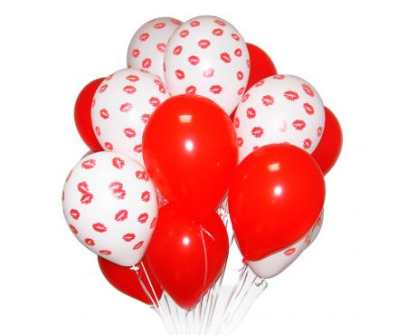 """Набор из шариков - """"Поцелуйчики"""""""