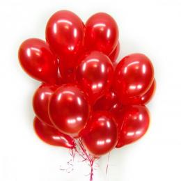 """Набор из шариков - """"Ярко красные"""""""