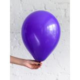 "Шар с гелием - ""Фиолетовый"""