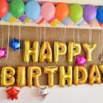 С днем рождения