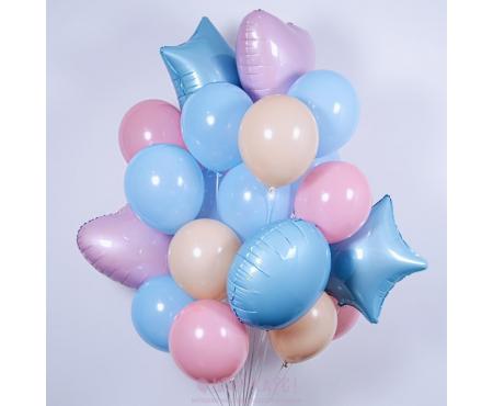 """Набор из шариков - """"Голубое облако"""""""