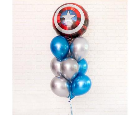 """Набор из шариков - """"Капитан Америка"""""""