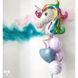 """Набор из шариков - """"Единорог разноцветный"""""""