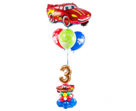 Набор из воздушных шаров маквин