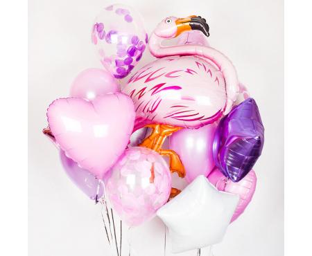 "Набор из шариков - ""Фламинго"""